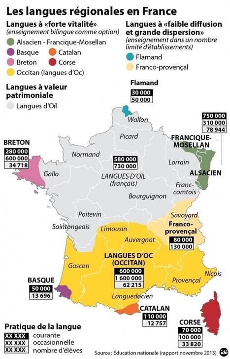Les langues régionales en France | Language Resources | Scoop.it
