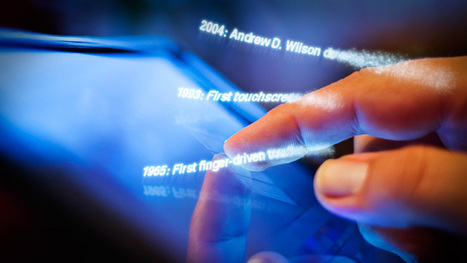 From touch displays to the Surface: A brief history of touchscreen technology | FutureChronicles | Scoop.it