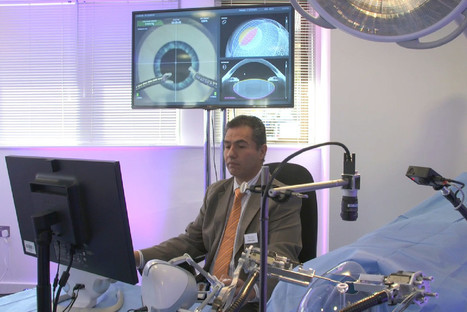 Eye robot: This mechanical surgeon can carry out cataract surgery with ultra-precise cuts | Medical Researches | Scoop.it