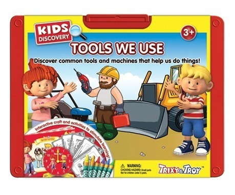 Interactive Book for Kids which covers tools and machines which we use in our daily life. | Educational Toys | Scoop.it