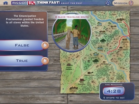 Think Fast About the Past – An iPad Game About U.S. History | iPads, MakerEd and More  in Education | Scoop.it
