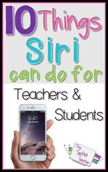 The Techie Teacher: 10 Things Siri Can Do for Teachers & Students | iPads, MakerEd and More  in Education | Scoop.it