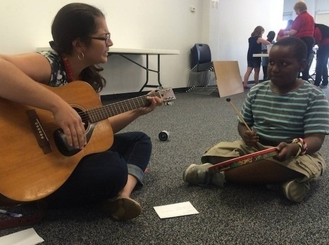 Library, Magic House Team Up to Help Ferguson Kids Cope with Crisis   Music to work to   Scoop.it