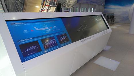 Emirates Aviation Experience digital installation by Engage Production for Pulse Group, London | Cabinet de curiosités numériques | Scoop.it
