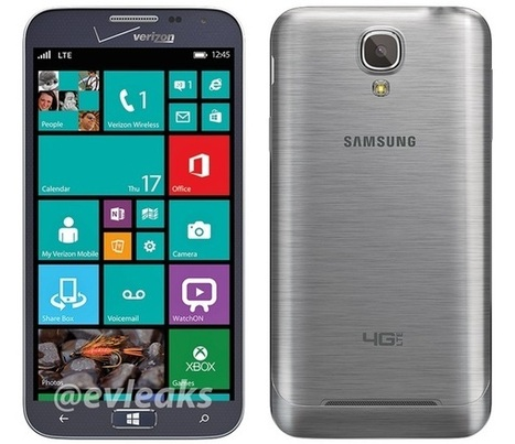 Samsung ATIV SE Windows Phone another leaks out again in high-quality image | WebSpydr | WebSpydr | Scoop.it
