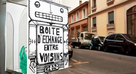 [Prospective] Des Boîtes d'Échange Entre voisins pour partager plus qu'un bonjour - Maddyness | Tipkin | Scoop.it