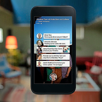 First Impressions of the Facebook Home App for Smartphones   MIT Technology Review   Social Media Spoon   Scoop.it