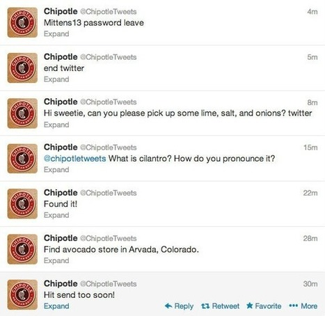 Breaking Down Chipotle's Obvious Twitter Stunt | Brandon Hassler | Public Relations & Social Media Insight | Scoop.it