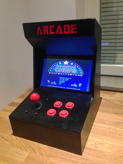 Arduino Blog » Blog Archive » The Arcade Machine, by Timothy (15) | Open Source Hardware News | Scoop.it