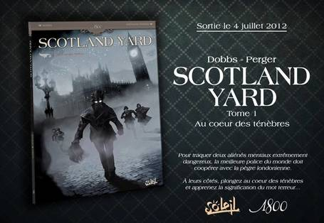 Actualité BD // Scotland Yard chez Soleil | Paris Tonkar magazine | Scoop.it