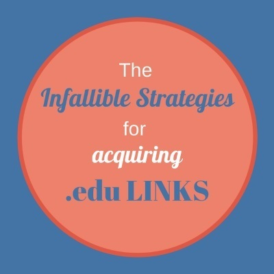 The Infallible Strategies For Acquiring .edu Links | SEO | Scoop.it