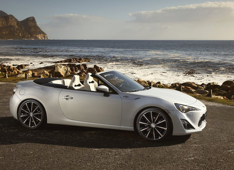 Toyota FT-86 Open Concept - Top Cars   Damn It's Awesome   Scoop.it