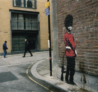 LoupDargent.info: History of Banksy Graffiti Art [Infographic] | Skate Free | Scoop.it