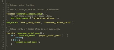 Jetpack Social Menu | Trailing WordPress | Scoop.it