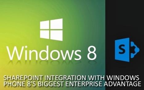 SharePoint Development: Is SharePoint integration, Windows Phone 8's biggest Enterprise Advantage | SharePoint 2013 Mobile Development | Scoop.it