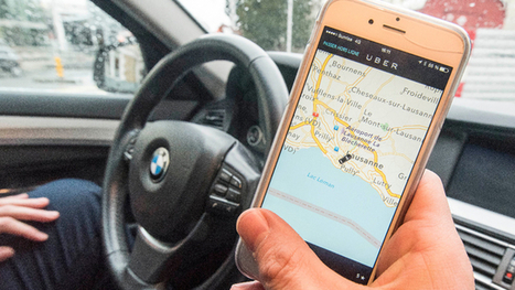 Uber se passera bientôt de Google Maps | Pulseo - Centre d'innovation technologique du Grand Dax | Scoop.it