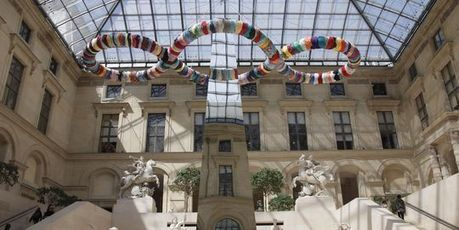 Pistoletto tend ses pièges visuels au Louvre - Le Monde - Le Monde   Contemporains - arts visuels, littérature, théorie   Scoop.it