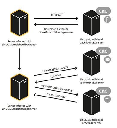 ESET découvre le malware Mumblehard, après cinq ans d'infection ... - Developpez.com | Sécurité informatique, Barracuda et Eset | Scoop.it