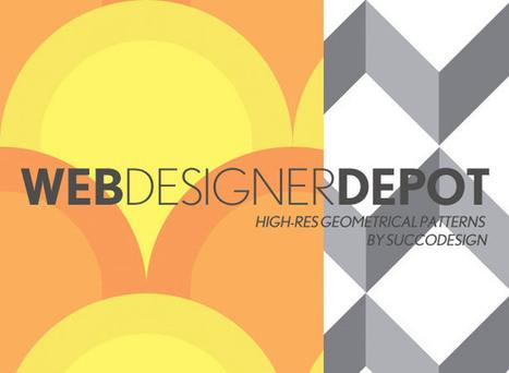 High quality pattern sets for web design | Art - Craft - Design- Net | Scoop.it