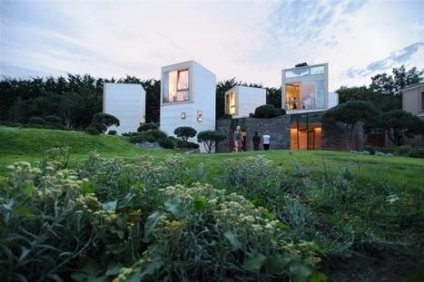 Une maison conçue comme «Un village de tours» | Déco & tendances contemporaines | Scoop.it