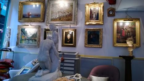 Carré d'art: stand 140. | Dealers Events:Les événements des marchands ,Marché Dauphine ,Paris | Scoop.it