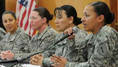 NEWSFLASH: One More Reason Why Military Women Need More Protection from Sexual Assault | Women's Empowerment | Scoop.it