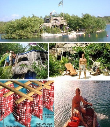 Recycled Paradise: Amazing Man-Made Floating Island | Designs & Ideas on Dornob | Wicked Shit | Scoop.it