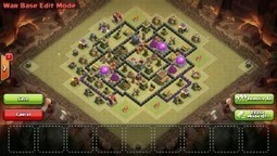 TH8 Base - The Mighty - Excellent Anti 3 Star Clan War Base | Clash of Clans Tips | Scoop.it