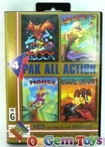 HES 4 Pak All Action Sega Master System Game, sms game   Online News for Games, Puzzles and Toys   Scoop.it
