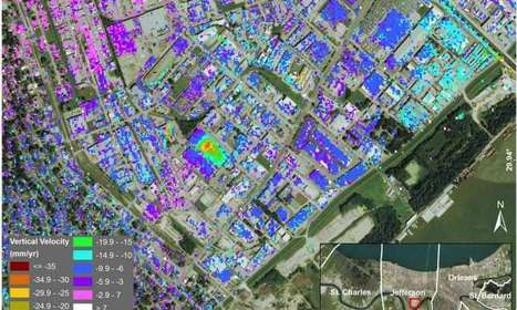 New study maps rate of New Orleans sinking | Healthy Waters | Scoop.it