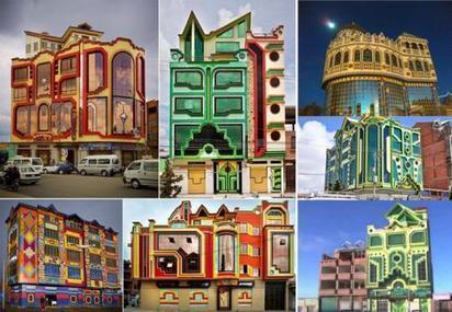 BOLIVIE • Architecture haute et en couleurs - Courrier International   Architecture on the world   Scoop.it