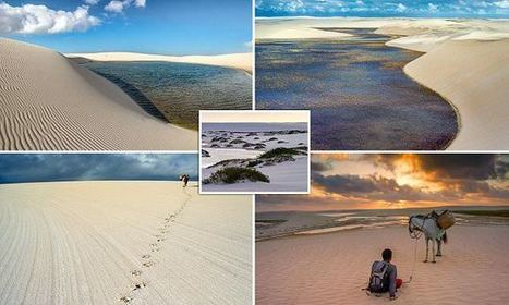 Awe-Inspiring Pictures Of The Famous 'Sea Of Sand Dunes' In Brazil  | Everything from Social Media to F1 to Photography to Anything Interesting | Scoop.it