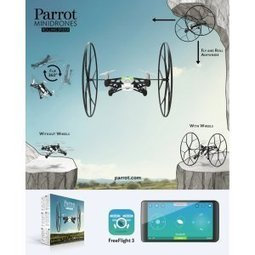 Parrot MiniDrone Rolling Spider Flying Drone Camera Toy Specifications and Features Review | Kid-FreeLiving.Com Kids Toys and Games | What's Interesting and Trending Around The Web, United States and The World | Scoop.it