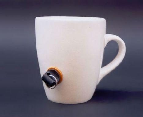 Le gadget du vendredi : le mug à clé | Zevillage | Teletravail et coworking | Scoop.it