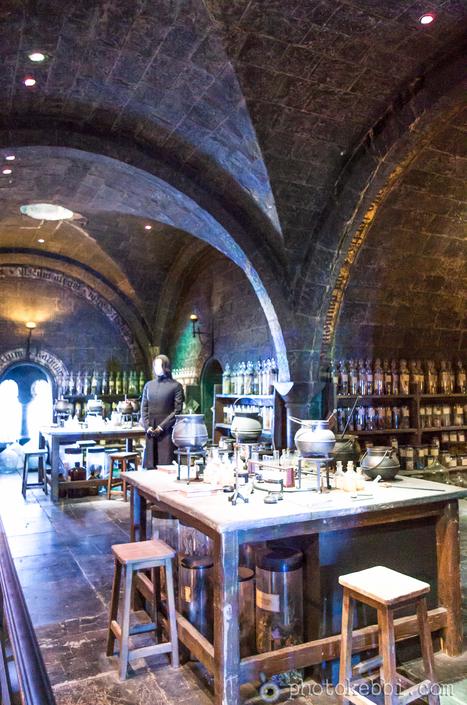 Harry Potter Studio : Professeur Severus Rogue et sa chambre des potions | photopoesie | Scoop.it