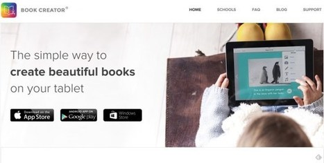 Book Créator. Créez des livres sur votre tablette | Orangeade | Scoop.it