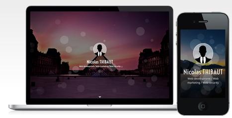 Mindlook – Resume Template (Resume / CV)   Site Templates Download   Scoop.it