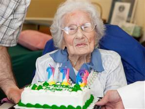 World's oldest woman celebrates her sweet 116th   It's Show Prep for Radio   Scoop.it