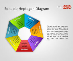 Free Heptagon Diagram for PowerPoint | software | Scoop.it