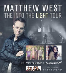 Jesusfreakhideout.com Music News, Septembert 2012: GRAMMY-NOMINATED MATTHEW WEST SET TO LAUNCH INTO THE LIGHT TOUR FEATURING SPECIAL GUESTS MIKESCHAIR, LINDSAY MCCAUL AND EVERFOUND | Contemporary Christian Music News | Scoop.it