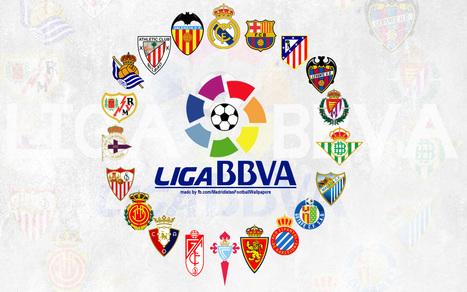 Tabelas do Campeonato Espanhol - 2013/14   Liga BBVA   Scoop.it