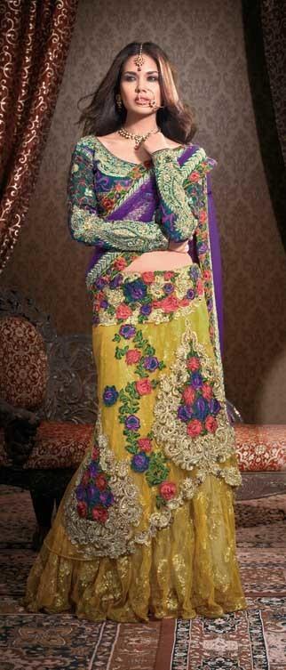 Indo Western Lehenga   Indian Ethnic Wear For Women   Scoop.it