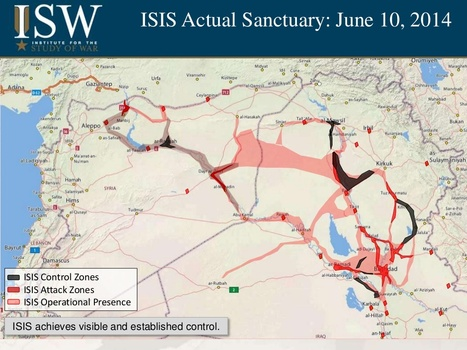 The Beginning of a Caliphate: The Spread of ISIS | Geography Education | Scoop.it