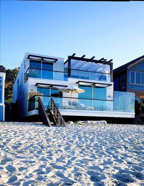 Extravagant Beach House Design for Modern Living - EnjoyF.com | Beautiful Beach Houses | Scoop.it