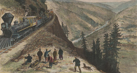 Chinese Railroad Workers in North America Project | Chinese American history | Scoop.it