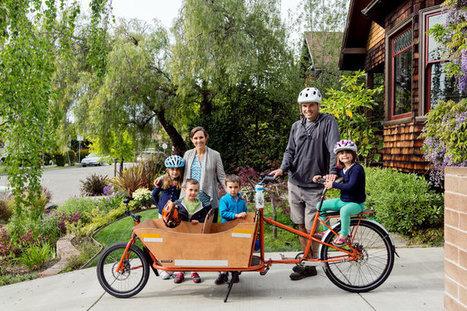 Ces familles qui préfèrent les cargo-bikes - article du NYTimes.com en anglais | Cycling Tigers | Scoop.it