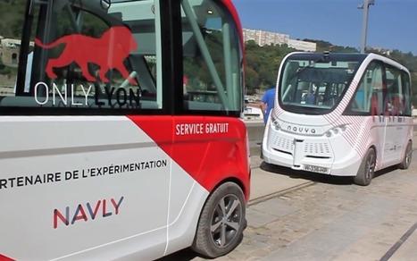 Navly, un bus autonome à Lyon | Planète Robots | Post-Sapiens, les êtres technologiques | Scoop.it