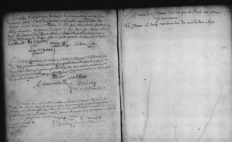 MesRacinesFamiliales: 1694 Quelle était la fonction de Théodore LE HEU? #sérendipité #paleographie | GenealoNet | Scoop.it