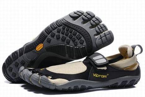 Vibram Five Fingers Treksport Black/Beige/Grey Men's | new and fashion list | Scoop.it