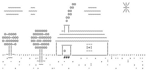 ASCII House | ASCII Art | Scoop.it